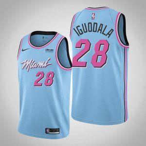 Miami Heat #28 Andre Iguodala City Jersey